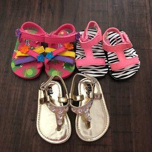 Other - Baby girl sandal bundle!